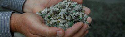 recycled glass fairfax