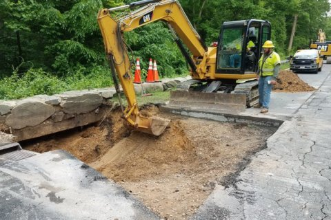 All GW Parkway lanes back open after monthslong sinkhole fix
