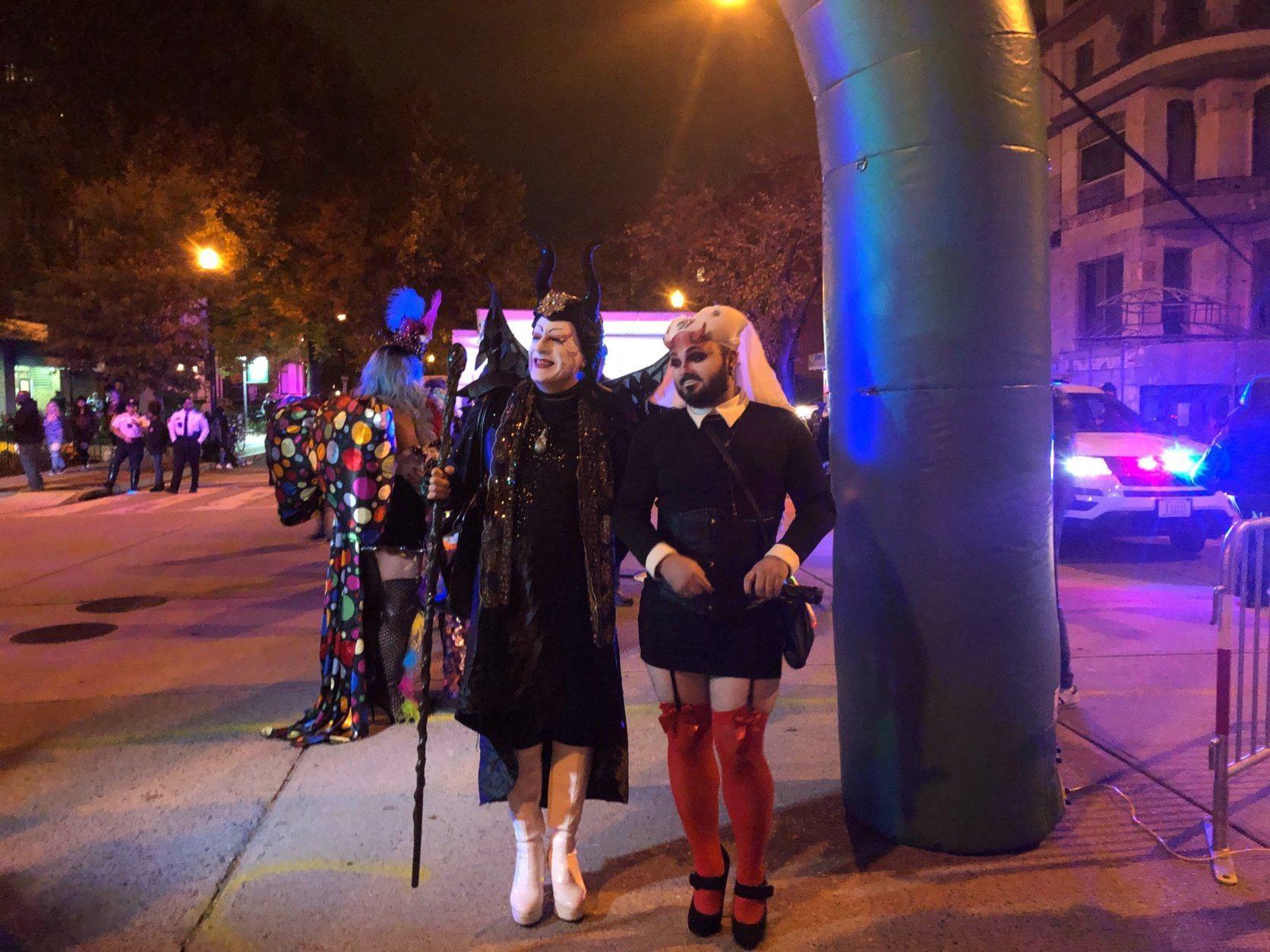 high heel race, dupont circle, halloween