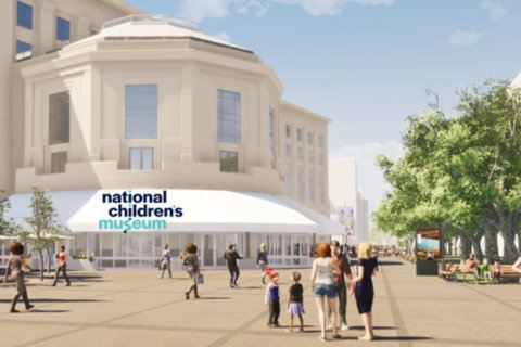 Kids will learn to swing like the Nationals at new Children's Museum