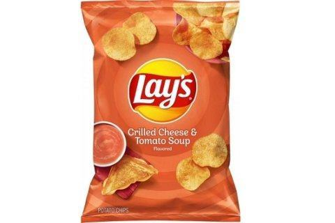 Lay's is releasing a grilled cheese and tomato soup flavor