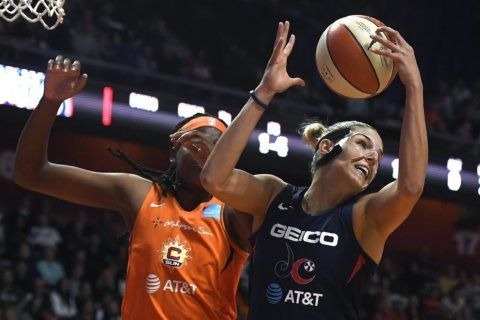Mystics lose to the Connecticut Sun 90-86, tying the series 2-2