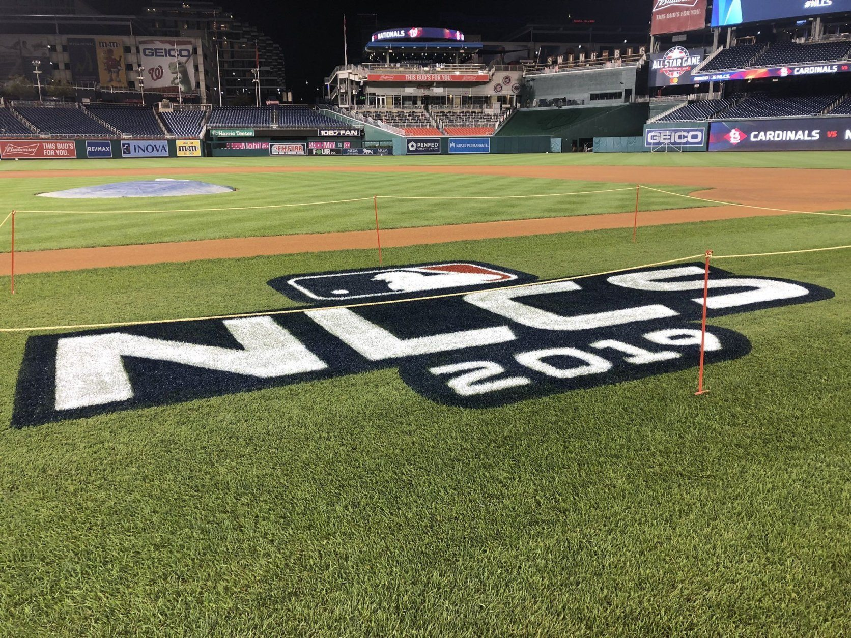Nationals back home for Game 3 of NLCS