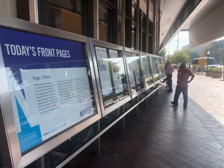 newseum front pages