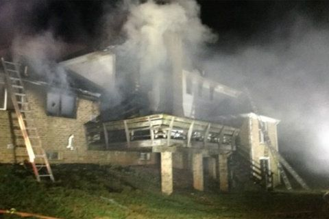 2-story Potomac home goes up in flames; $1M in damage