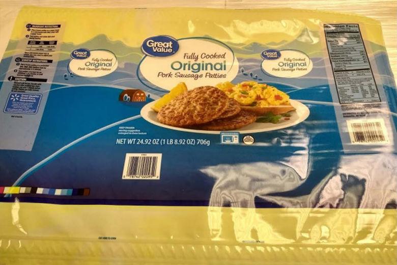 George's pork sausage package