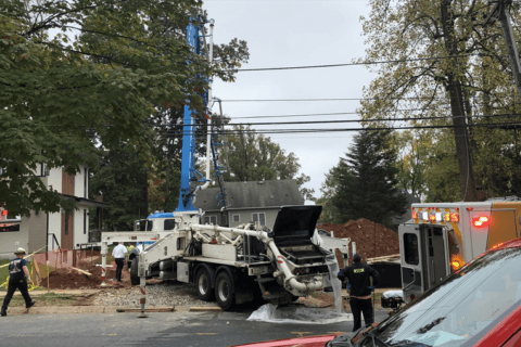 Homebuilding worker dies after shock, fall in Bethesda