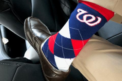 World Series rituals: Fans latch on to jerseys, socks — even a lucky bra