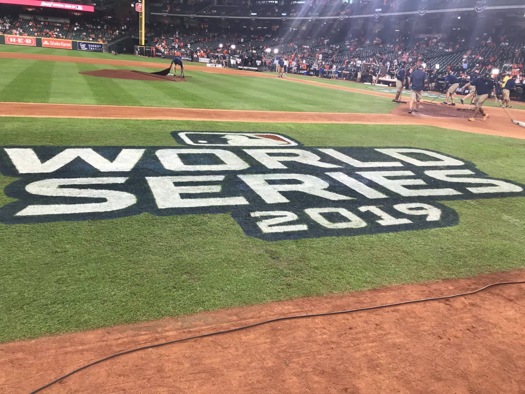 Photo of World Series field, Game 2 of World Series