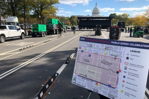DC officials prep for a party: Nationals' World Series victory parade expected to draw thousands