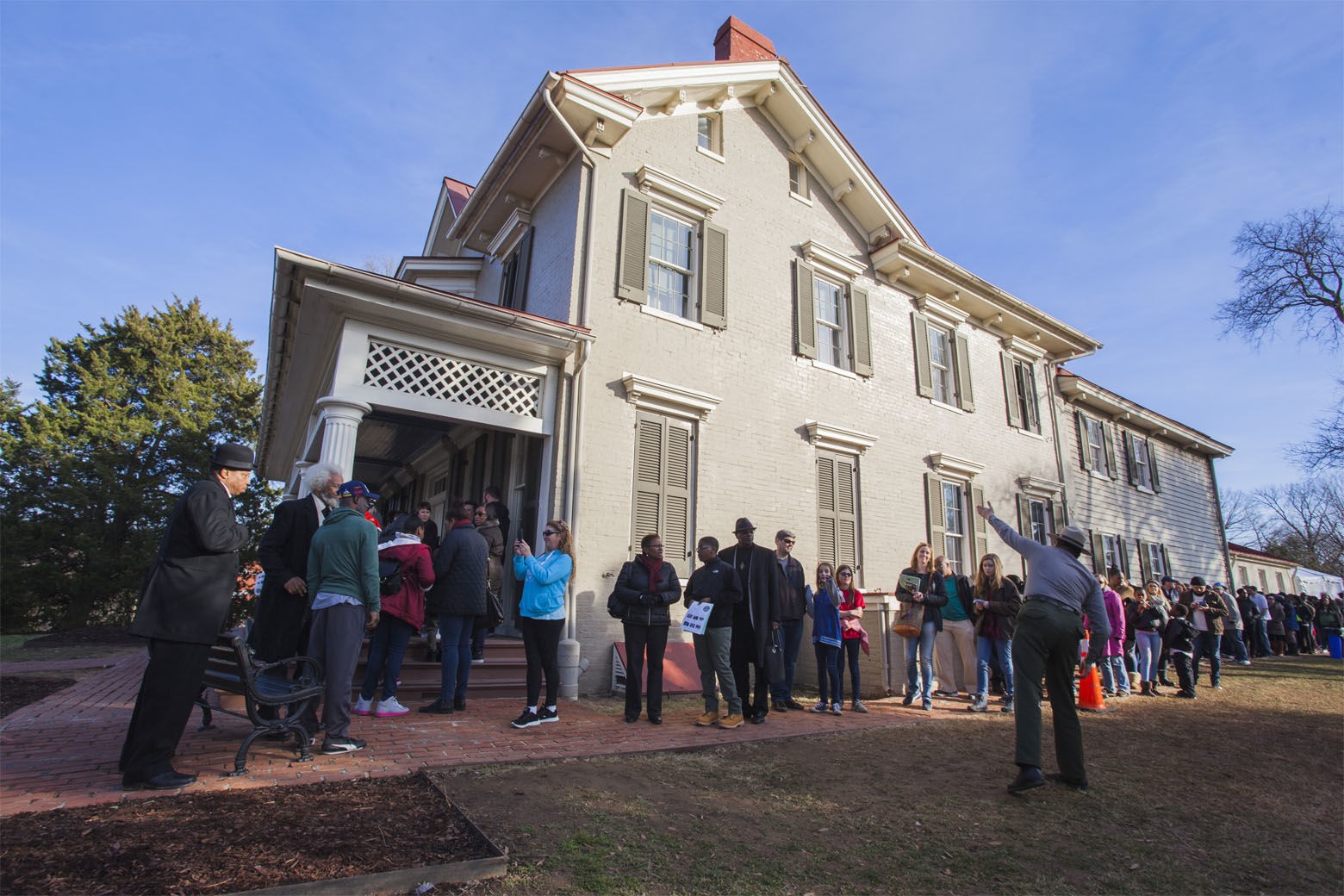"""<p><strong>Visit the home of an American hero</strong></p> <p>Cedar Hill, a stately home atop a 50-foot hill in Anacostia, was the place abolitionist and orator Frederick Douglass called home the last 20 years of his life.</p> <p>Carefully restored to its 1890s-era glory, you can visit and learn about the extraordinary life of Douglass, who escaped from slavery to become one the leaders of the abolitionist movement. Guided tours cost just $1 per person. You can <a href=""""https://www.nps.gov/frdo/planyourvisit/guidedtours.htm"""" target=""""_blank"""" rel=""""noopener"""">find more information on reserving a tour</a> on the National Park Service website. While you&#8217;re in the neighborhood, the famous massive chair at the corner of Martin Luther King Avenue and V Streets in Southeast. Originally installed in 1959 to showcase a furniture company&#8217;s wares, the giant chair is now an iconic D.C. landmark.</p>"""