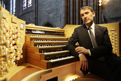Last organist to play in Notre Dame to hold DC concert
