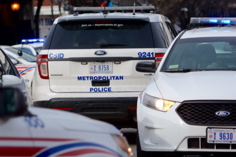 Suspect detained after shooting at DC volunteer police