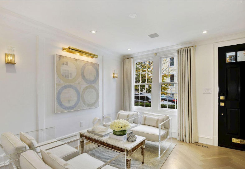The 1780 house has also undergone a top-to-bottom 21st-century renovation by Akseizer Residential. (Courtesy HRL Partners at Washington Fine Properties)