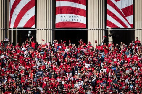 'We are the District of Champions': Thousands pack DC for Nationals celebration