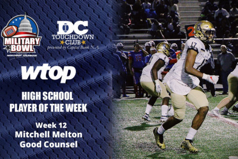 Mitchell Melton's defense leads Good Counsel to WCAC title game, Player of the Week
