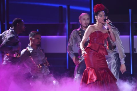 The Latest: Rosalía wins album of the year at Latin Grammys