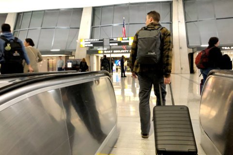 Day before Thanksgiving air travelers balance timing, weather risk