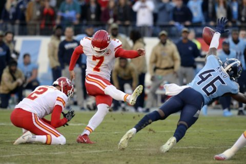 Chiefs special teams anything but special in Titans debacle