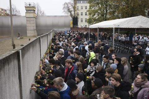 Germany, allies mark 30 years since Berlin Wall fell