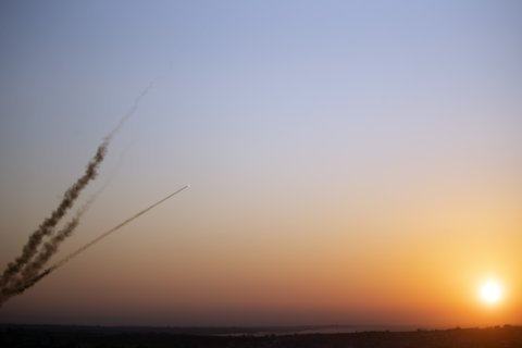 The Latest: EU condemns Gaza rocket fire deep into Israel