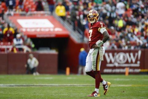 Redskins end TD drought, Haskins flustered in loss to Jets