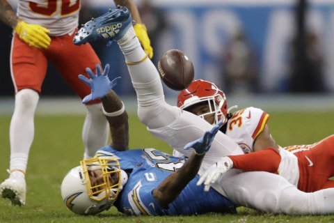 Mahomes, Chiefs hold off Chargers 24-17 in Mexico City