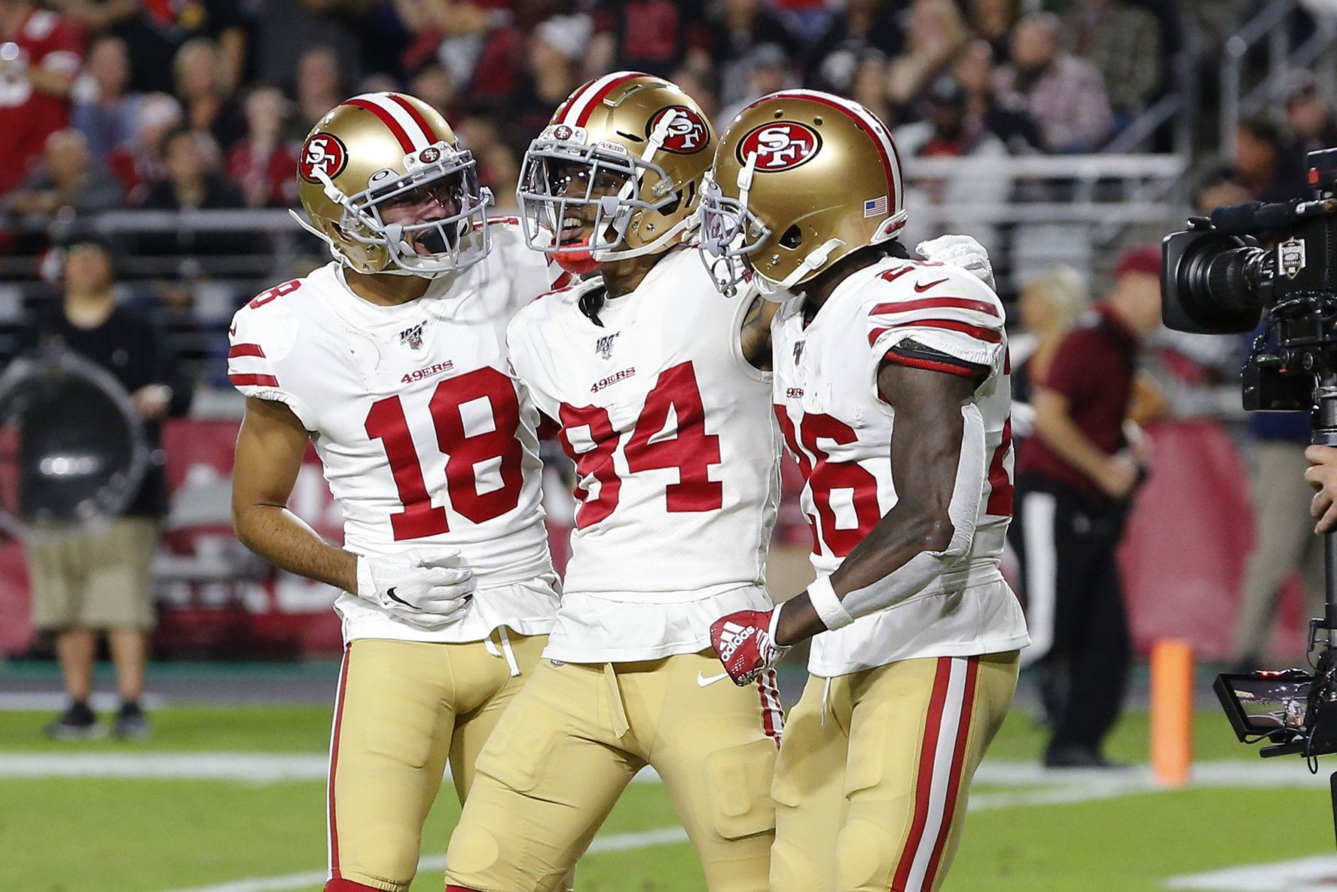 <p><b>Most Surprising Team: San Francisco 49ers</b></p> <p>Most people thought San Fran would be good in Year 3 of the Kyle Shanahan-John Lynch era, but I don&#8217;t know anyone who thought they&#8217;d be the last undefeated team in the league halfway through the season. Jimmy Garoppolo is starting to look like the franchise QB everyone assumed him to be. The run game is dominant and so is the defense. They&#8217;ll probably come back down to earth once they embark on a tougher second-half schedule but nobody wants to see this team in the playoffs.</p> <p><i>Honorable mention: Indianapolis Colts, Buffalo Bills, Green Bay Packers</i></p>