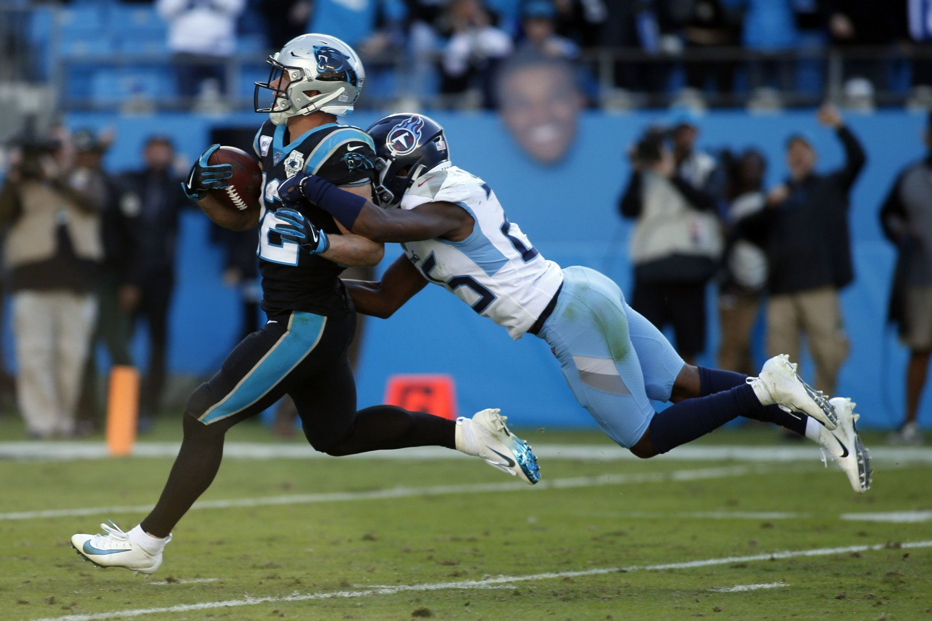 """<p><em><strong>Titans 20</strong></em><br /> <em><strong>Panthers 30</strong></em></p> <p><a href=""""https://www.espn.com/nfl/recap?gameId=401128078"""" target=""""_blank"""" rel=""""noopener"""">Carolina thinks Christian McCaffrey is the MVP</a> … and I don&#8217;t think they&#8217;re wrong.</p>"""