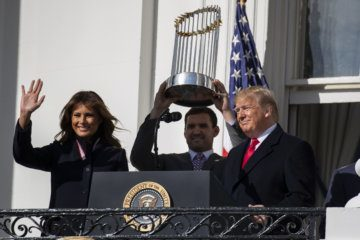 WATCH: White House honors Washington Nationals