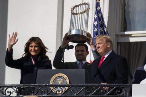 WATCH: White House honors Washington Nationals