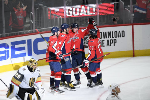 Caps drop their gloves in the fight against cancer