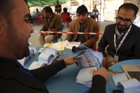 Afghan official says presidential poll results delayed again