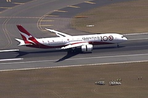Australia's Qantas operates 19 ½-hour London-Sydney flight