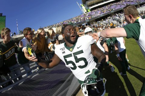 No. 12 Baylor keeping it close and undefeated with OU next