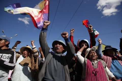 UN calls for talks to end Bolivia crisis as death toll rises