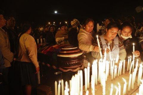 Bolivian interim leader meets UN envoy amid violence fears