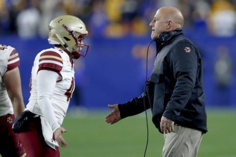 Boston College fires coach Steve Addazio