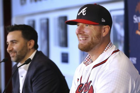 Will Smith celebrates return to home state with Braves