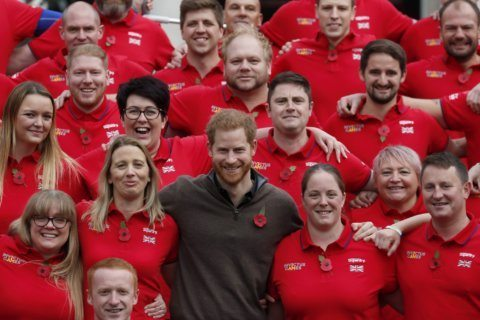 Prince Harry, young Archie send good-luck message to England