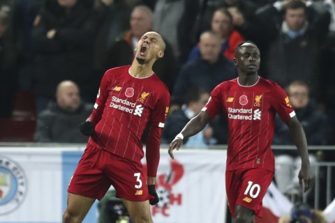 Man City falls 9 points behind Liverpool after Anfield loss