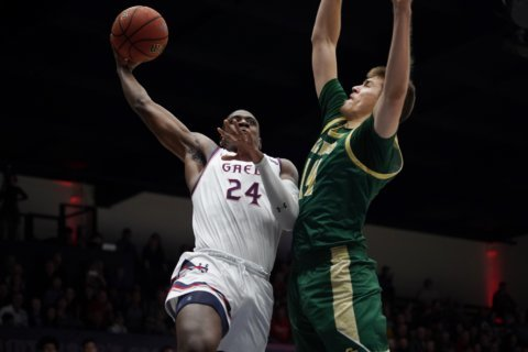 Ford has 21 points, No. 18 Saint Mary's tops Cal Poly 79-48