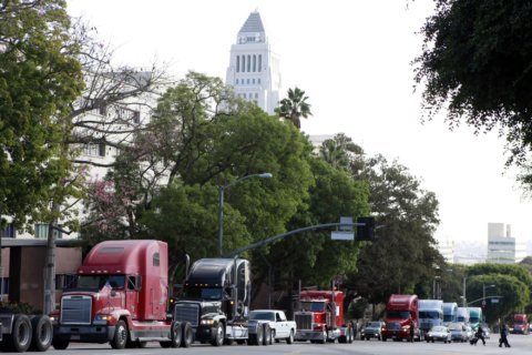 Truckers file 1st suit contesting California gig economy law
