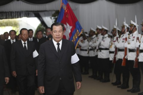 Cambodian leader sings praises of US after letter from Trump