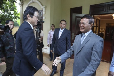 Cambodia says it defeated opposition effort to topple govt
