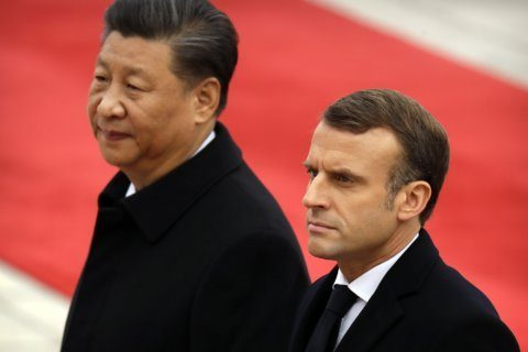 China and France reiterate support for Paris climate deal