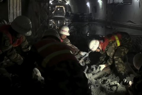 Tunnel collapses in southwest China; 4 dead, 8 missing