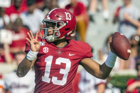 No. 4 Alabama aims to rebound against Mississippi State