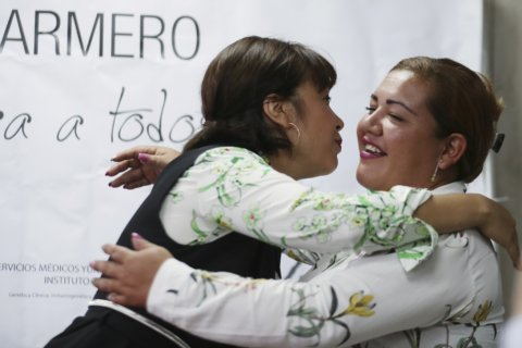 Colombia adoptees find family decades after volcano tragedy