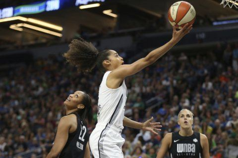 Diggins-Smith has new outlook after giving birth to son